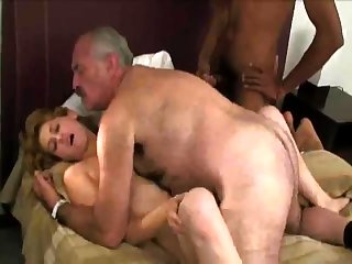 Aged And Young Russian Swingers