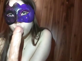 Teen Sweetheart Does Cock Worship