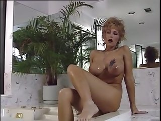 Big tit milf taking a own up
