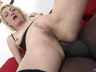Parsimonious mature mountain their way butt hole with a BBC