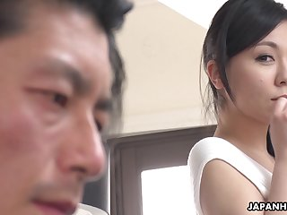 Japanese sexpot Miyuki Ojima is off the charts sexy increased by she loves to lose one's heart to